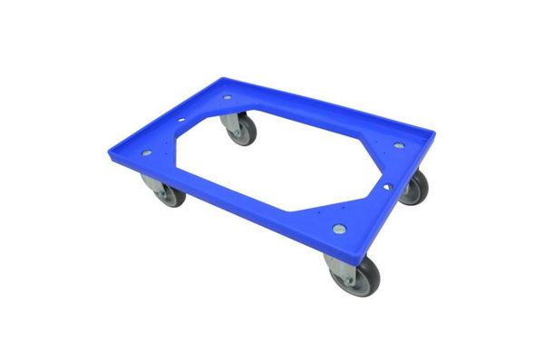 Dolly Krattenwagen 604x410x23mm Blauw