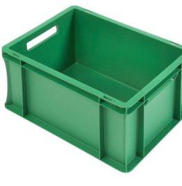 Stapelbak 400x300x220mm gesloten Groen