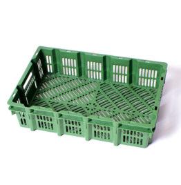 Stapelbak Kipkrat 600x400x150mm Groen