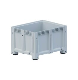 Palletbox 1000x1200x580mm 4 Poten Gesloten