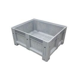 Palletbox 1000x1200x580mm 4 Poten Geperforeerd